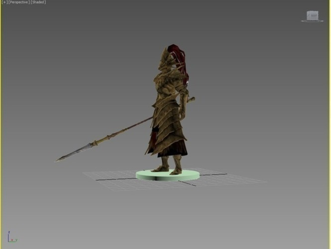 Dragon Slayer Ornstein - Dark Souls 3D Print 74338