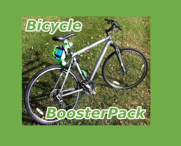Bicycle BoosterPack 3D Print 74572