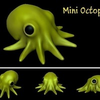 Small Mini Octopus 3D Printing 74683