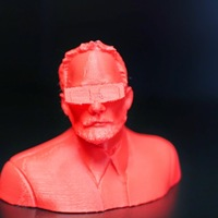 Small Bill Murray 3D 3D Printing 747
