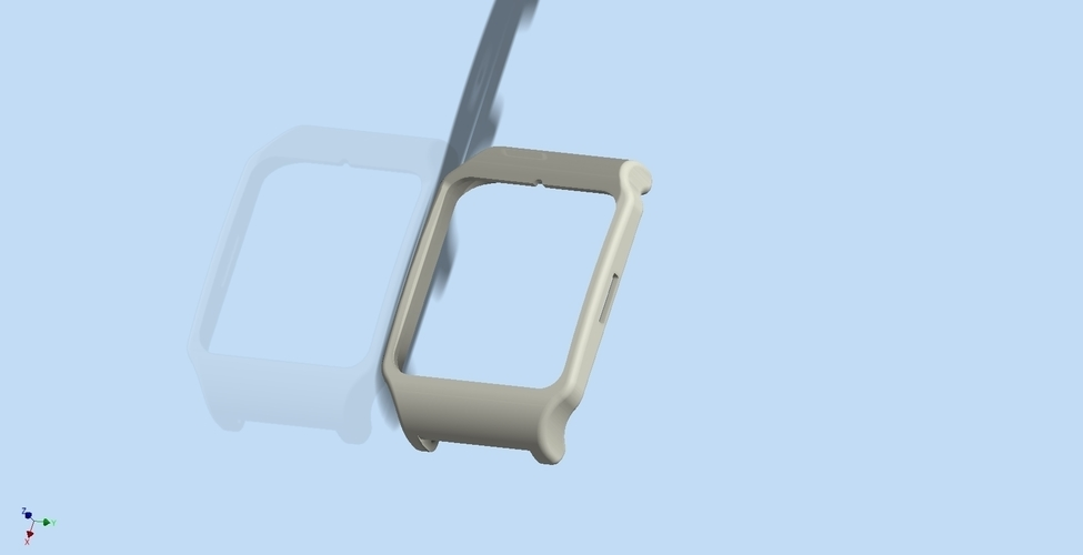 Adapter Sony smartwatch 3 holder 24mm 3D Print 74841