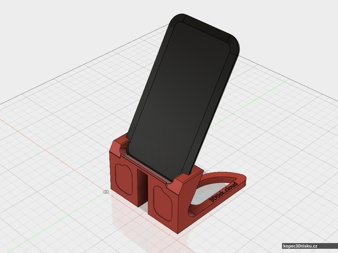 Tom's Samsung Galaxy S7 + Qi charger stand 3D Print 75105