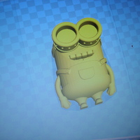 Small minion dave top part 3D Printing 75225