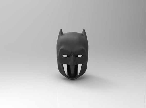 Medium Batman Cowl 3D Printing 75640