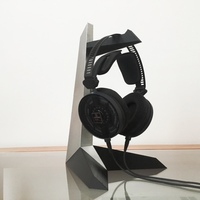 Small Tantō Headphone Stand 3D Printing 75705