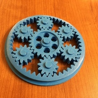 Small Ava's Gear Toy 2 3D Printing 75898