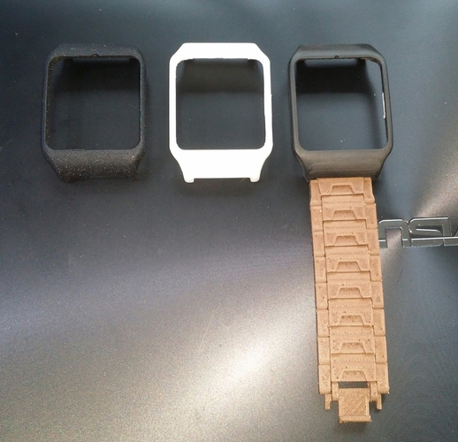Adapter Sony smartwatch 3 holder 24mm 3D Print 75957