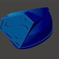 Small Superman-Ring 3D Printing 75966