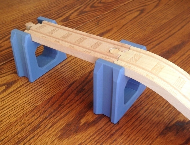 Bridge support for Thomas the Tank Engine type track 3D Print 75985