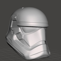 Small Stormtrooper EP7 helmet wearable  3D Printing 75994