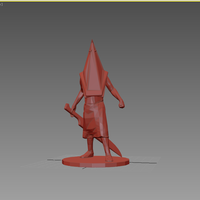 Small Pyramid Head - Silent Hill 3D Printing 76048