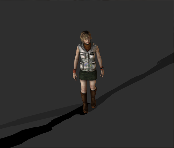Medium  Heather Mason - Silent Hill 3D Printing 76049