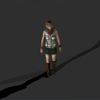 Small  Heather Mason - Silent Hill 3D Printing 76049