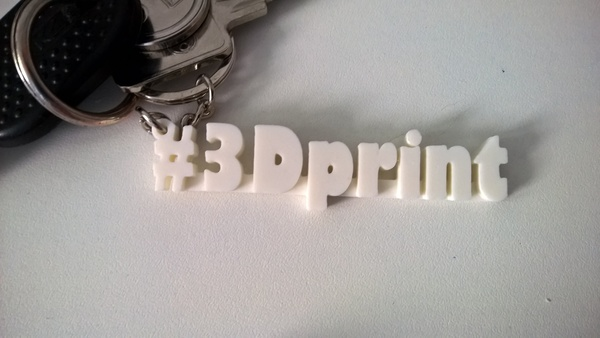 Medium keychain #3Dprint 3D Printing 76207
