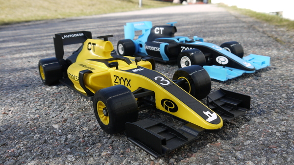 Medium OpenR/C Formula 1 car 3D Printing 76363