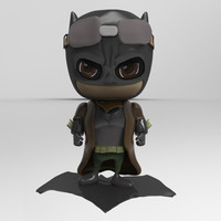 Small Batman V Superman Dawn of Justice Bat Brown Coat  3D Printing 76531