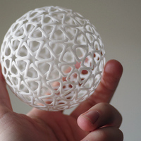 Small Islamic Christmas Ball 3D Printing 7655