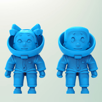 Small Little astronaut 3D Printing 76569