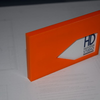 Small Business Card Holder 3D Printing 76672