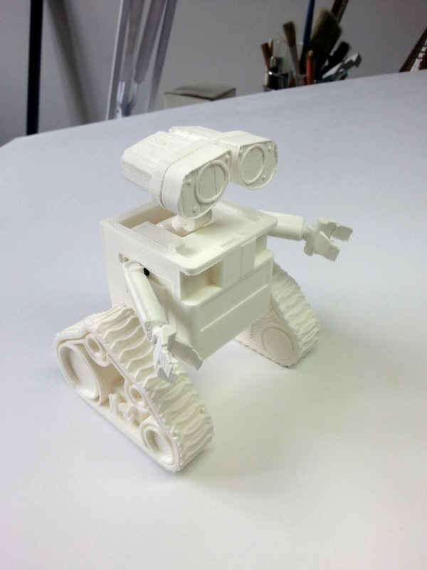 Medium WALL-e  ( cut into parts ) 3D Printing 76722