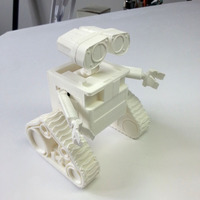 Small WALL-e  ( cut into parts ) 3D Printing 76722