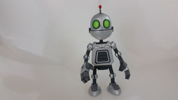 Medium Clank Figure - Ratchet & Clank 3D Printing 76913