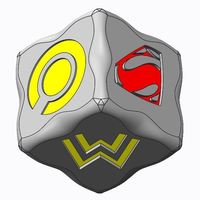 Small Batman v Superman Dice Game(s) 3D Printing 76926