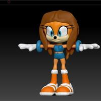 Small Tikal Ispirate Sonic 3D Printing 77150