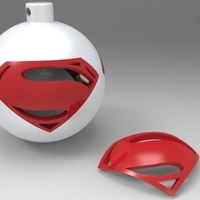 Small Super Xmas Ball 3D Printing 77175