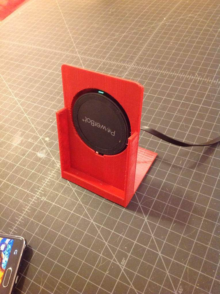 3D Printed Phone Wireless Charging Dock by KliqCreatives