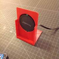 Small Phone Wireless Charging Dock 3D Printing 77322
