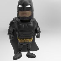 Small Armored Batsuit  3D Printing 77418