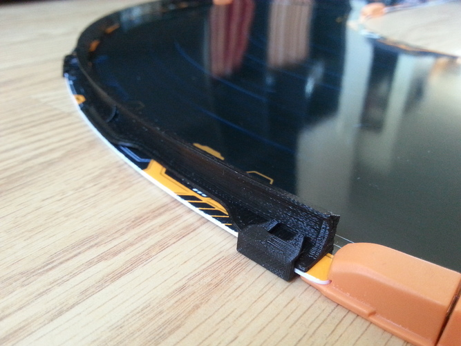 3d Printed Anki Overdrive Race Track Rail System By