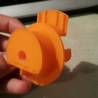 Small UM2 Spider Spool Attachment 3D Printing 77636