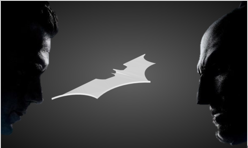 Returning Batarang 3D Print 77803