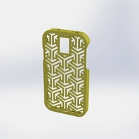 Small Galaxy S4 escher case 3D Printing 77862