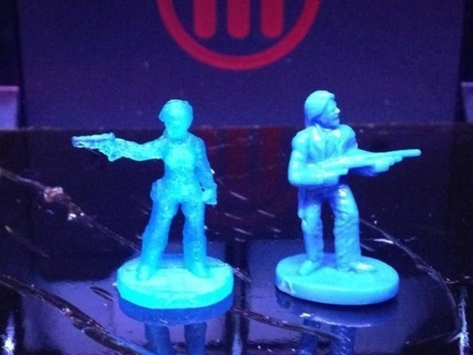 Resident Evil player pieces for Zombies!!! 3D Print 77870