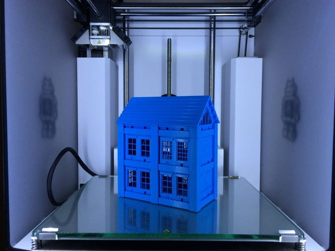 ​Printable Architectural Kit Series 2 3D Print 7800