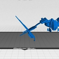Small Minmatar Carrier Drones - Eve Online 3D Printing 78171