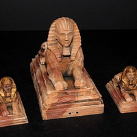 Small OpenForge 2.0 Sphinx Statues 3D Printing 78257
