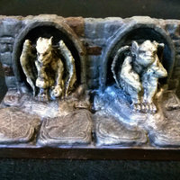 Small OpenForge Gargoyle Walls 3D Printing 78321