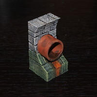 Small OpenForge Sewer Pipe Wall 3D Printing 78354
