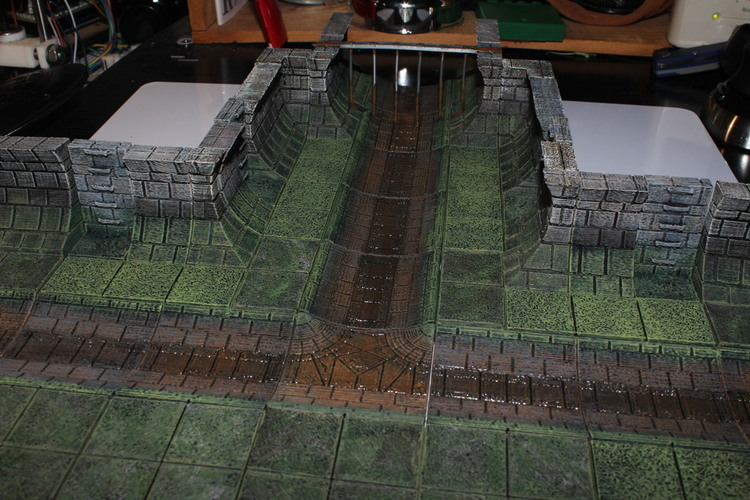 Openforge Sewer Ladder 3D Print 78360