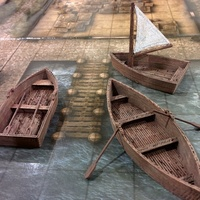 Small OpenForge rowboats 3D Printing 78409