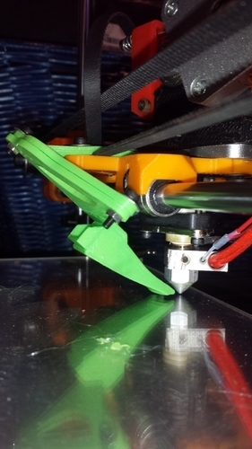MendelMax 1.5 BlowerFan mount 3D Print 78416