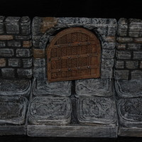 Small Openforge Stone Arch Doorway 3D Printing 78419