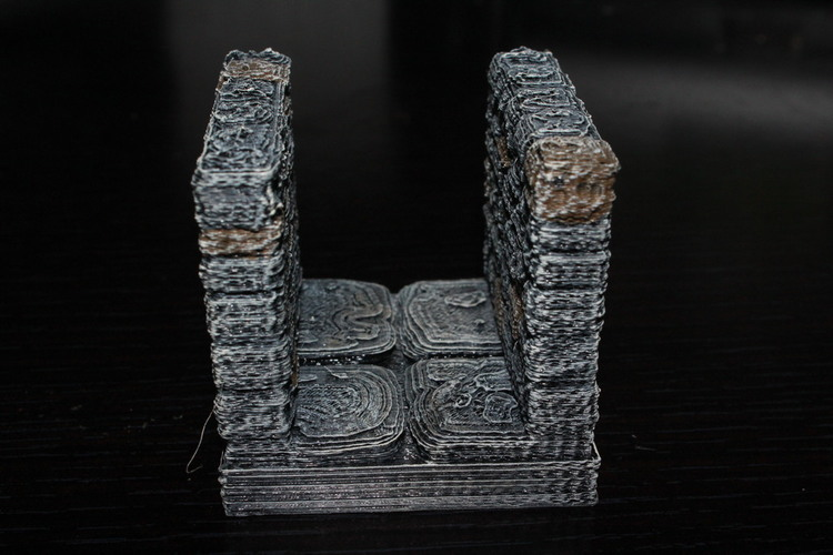 OpenForge Stone Dungeon Corridor 3D Print 78520
