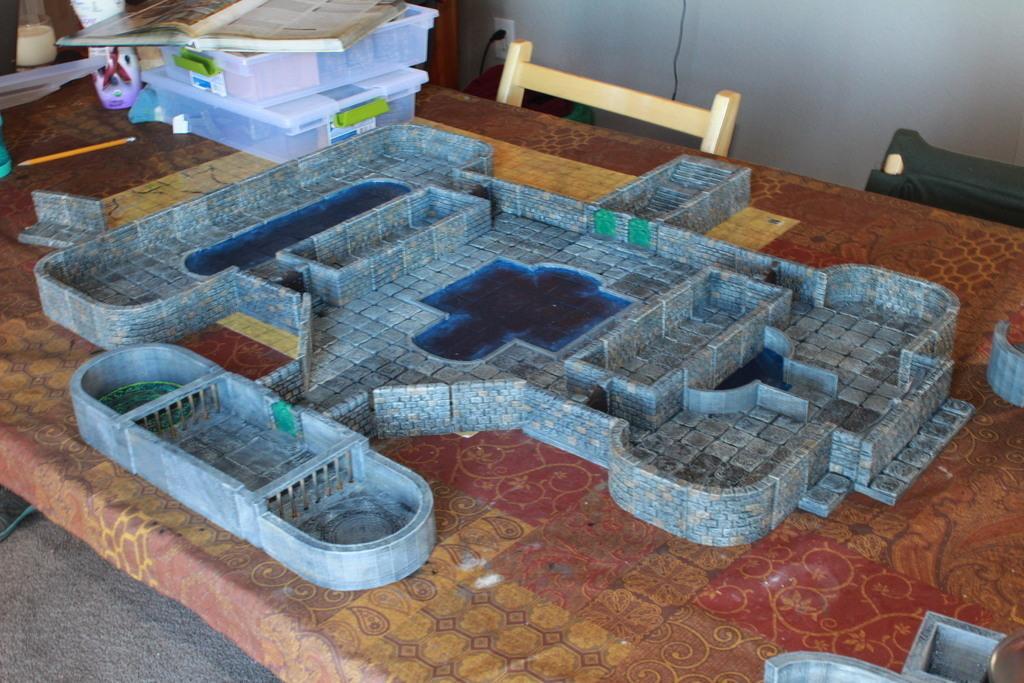 D Printed OpenForge Low Wall Pool Tiles By Devon Jones Pinshape - 3d printed floor tiles