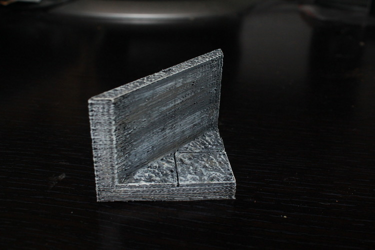 OpenForge Smooth Edge Diagonal Tile 3D Print 78550