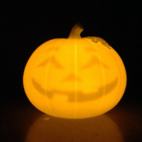 Small Smiley Jack O Lantern 3D Printing 7856